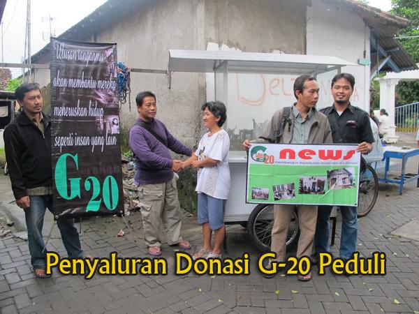Donasi G-20 Kec. Sidoarjo
