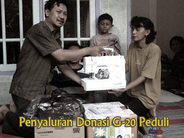Donasi G-20 Kec. Tulangan1